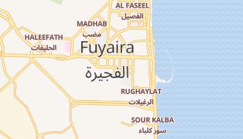 Mapa online de Fujairah