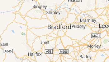 Mapa online de Bradford