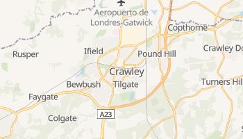 Mapa online de Crawley