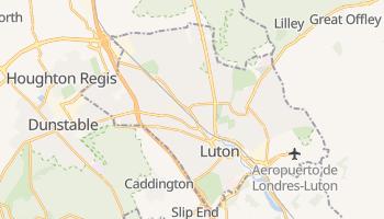 Mapa online de Luton