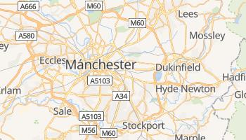 Mapa online de Mánchester