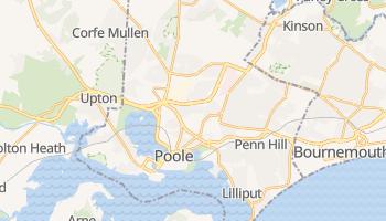 Mapa online de Poole
