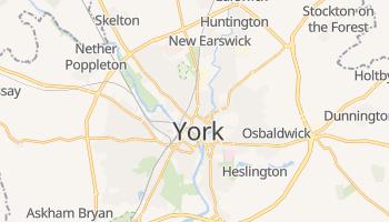 Mapa online de York