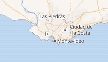 Mapa online de Montevideo