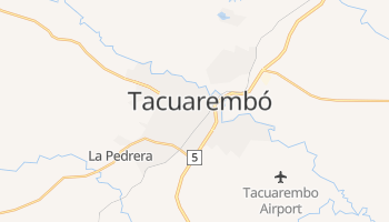 Mapa online de Tacuarembó