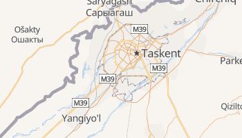 Mapa online de Tashkent