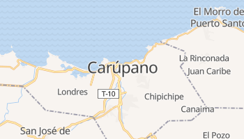 Mapa online de Carúpano