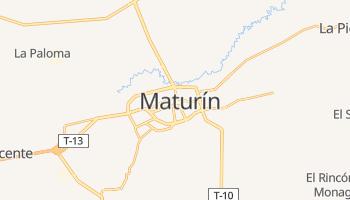 Mapa online de Maturín