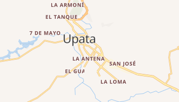 Mapa online de Upata