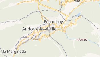 Carte en ligne de Escaldes-Engordany