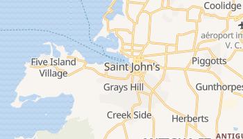 Carte en ligne de Saint John's