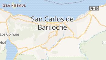 Carte en ligne de San Carlos de Bariloche