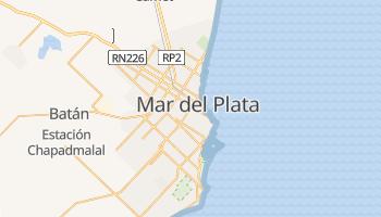 Carte en ligne de Mar del Plata