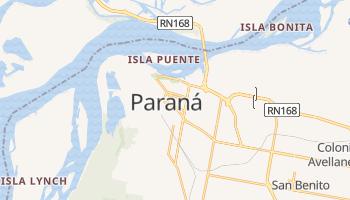 Carte en ligne de Paraná