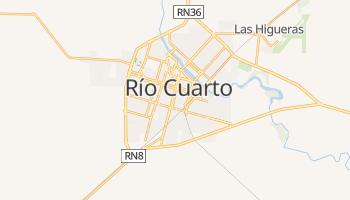 Carte en ligne de Río Cuarto