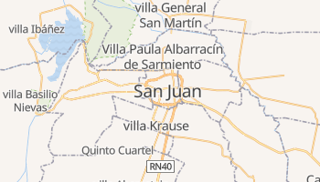 Carte en ligne de San Juan