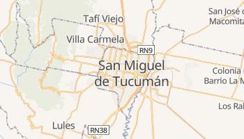 Carte en ligne de San Miguel de Tucumán