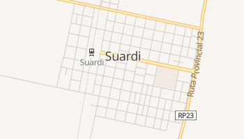 Carte en ligne de Suardi