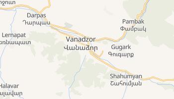 Carte en ligne de Vanadzor