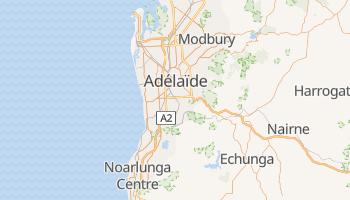 Carte en ligne de Adélaïde