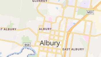 Carte en ligne de Albury