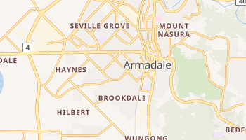 Carte en ligne de Armadale