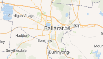 Carte en ligne de Ballarat