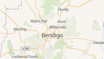 Carte en ligne de Bendigo