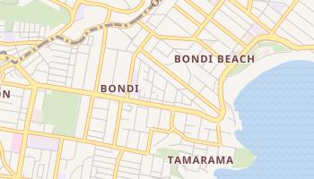 Carte en ligne de Bondi
