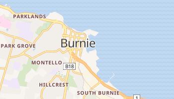 Carte en ligne de Burnie