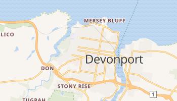 Carte en ligne de Devonport