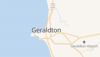 Carte en ligne de Geraldton