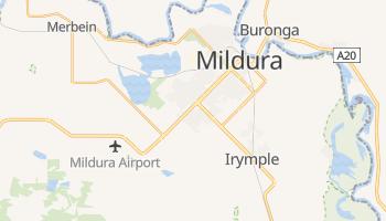 Carte en ligne de Mildura