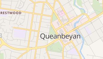 Carte en ligne de Queanbeyan