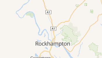 Carte en ligne de Rockhampton