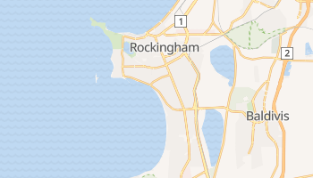 Carte en ligne de Rockingham
