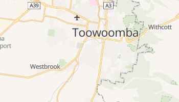Carte en ligne de Toowoomba