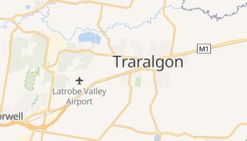 Carte en ligne de Traralgon