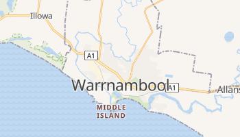 Carte en ligne de Warrnambool