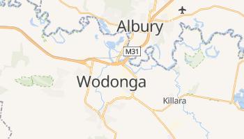 Carte en ligne de Wodonga