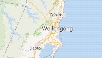 Carte en ligne de Wollongong