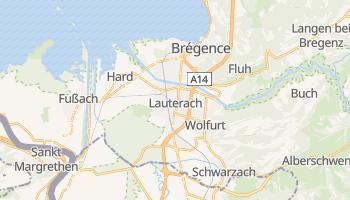 Carte en ligne de Bregenz