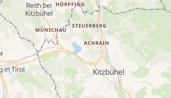 Carte en ligne de Kitzbühel