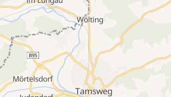 Carte en ligne de Tamsweg
