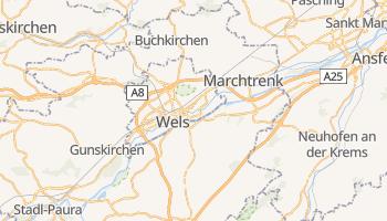 Carte en ligne de Wels