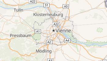 Carte en ligne de Vienne