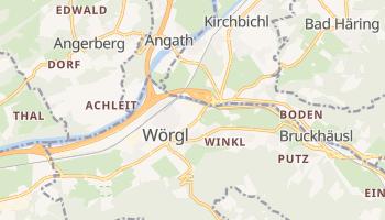 Carte en ligne de Wörgl