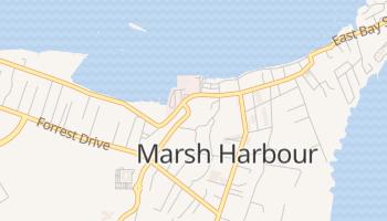 Carte en ligne de Marsh Harbour