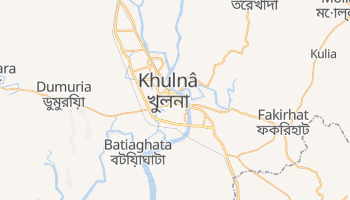 Carte en ligne de Khulna