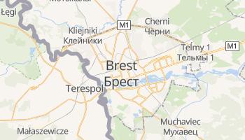 Carte en ligne de Brest
